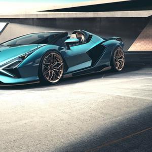Lamborghini го претстави новиот хибриден Sian Roadster