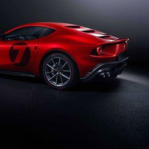 Ferrari Omologata е уникат базиран на 812 Superfast