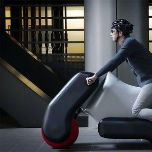 Poimo, јапонски електричен скутер на надувување