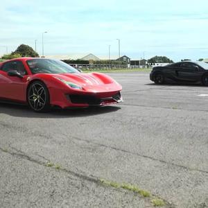 Викенд тарифа: Ferrari 488 Pista против McLaren 600LT