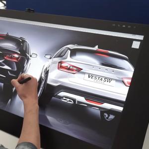 Ѕирнете во дизајнерското студио на Lada каде се создава новата Niva