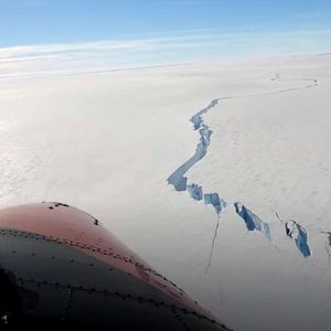 WATCH: An Iceberg Bigger Than New York Has Broken Off Antarctica Near a UK Base