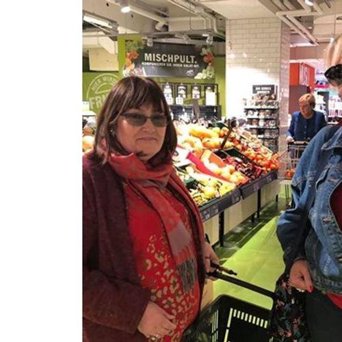 Маргарита Петкова: Не вярвахме на очите си - до нас Меркел пазарува сама (снимки)