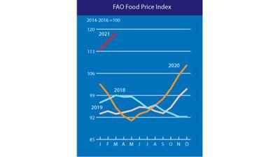 За 10-и по ред месец скочиха световните цени на храните - ето кои