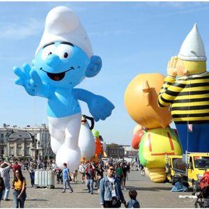 """Џиновски балони """"парадираа"""" по улиците на Брисел"""