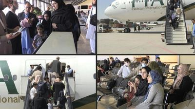 First foreign commercial flight since Taliban takeover leaves Kabul