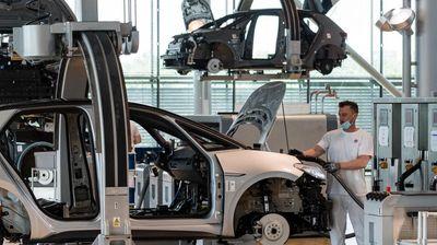 German exports rise again in April