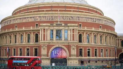 London's Royal Albert Hall marks 150 years of music
