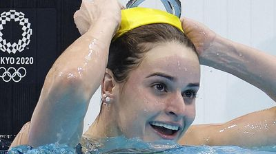McKeown crowned Olympic backstroke queen as Russia, Britain grab gold
