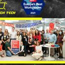 Parimatch Tech awarded as one of 'Europe's Best Workplaces 2021'