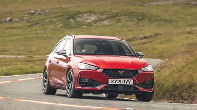 The Cupra Leon Estate is a thrilling yet practical performance car
