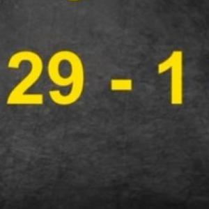 29-1 = 30 да, добро видовте! Еве како е можно … Оваа загатка направи вистинска збунетост кај луѓето! (ВИДЕО)
