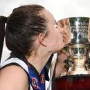 Pies' maiden flag sealed with a kiss