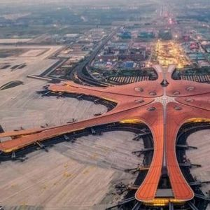 China's insane starfish-shaped airport