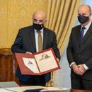 First replica of Napoleon's letter presented to the President, others issued for sale