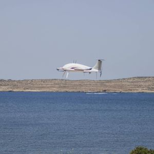 Malta's first delivery drone takes off