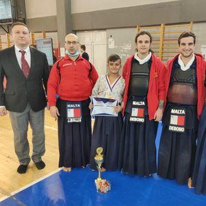 Malta wins the Balkan Kendo Cup Junior category