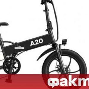 Електрически велосипед с автономен пробег до 80 км