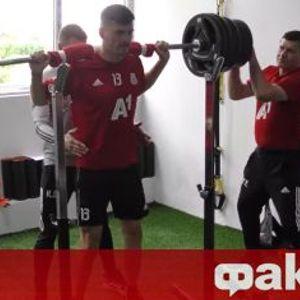 Първо във ФАКТИ: Вижте бруталните тренировки, довели до контузии в ЦСКА