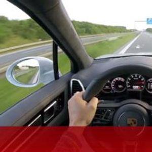 С 333 км/ч по аутобана зад волана на Porsche Cayenne Turbo