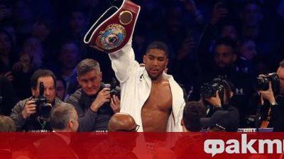Джошуа с призив към най-големите спортисти: Включете се в борбата срещу расизма