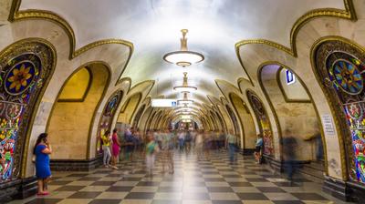 Sve 244 stanice moskovskog metroa za tri minuta!