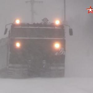 Ruska Severna flota održala vežbe vožnje u teškim uslovima u Murmanskoj oblasti