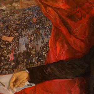 Ленин во советското сликарство (ФОТО)
