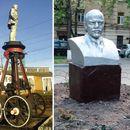 Пет чудни споменици на Ленин во Москва (ФОТОГРАФИИ)