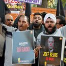 Indian business owners protest Amazon expansion plans, calling Jeff Bezos an 'economic terrorist'
