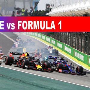 Формула Е срещу Формула 1