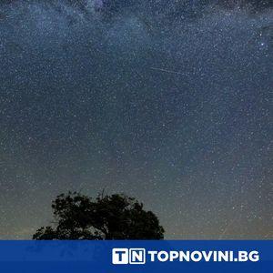 Падащ метеорит беше заснет в Италия