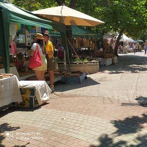 Традиционни български занаяти превзеха Малката главна за уикенда (СНИМКИ)