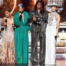 Изненадување на Греми: Мишел Обама неочекувано се појави за да ја прослави музиката со Алиша Кис, Џеј Ло, Лејди Гага и Џејда Смит