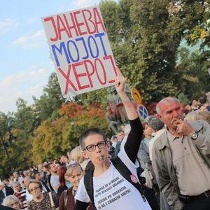 Шарените во поддршка на СЈО: Катица е мојот херој