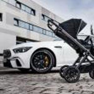 Вече може да си купите бебешка количка Mercedes-AMG