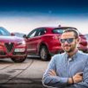 Карахме Alfa Romeo Stelvio. Видео!