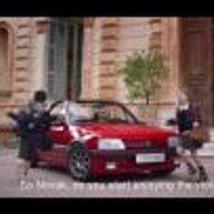 Новак Джокович удря топка с виола, вози се в Peugeot 205 CTI, а после кара 308 GTI