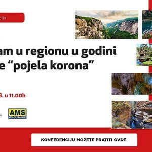 """Konferencija: LETO 2020: Turizam u regionu u godini koju je """"pojela korona"""""""