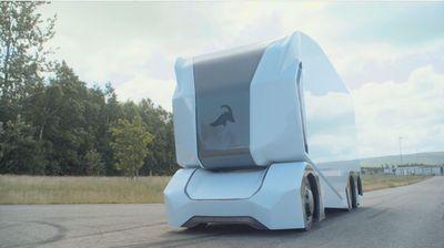 Има ли возач во камионот? Автономен електричен камион самостојно испорачува роба во Шведска