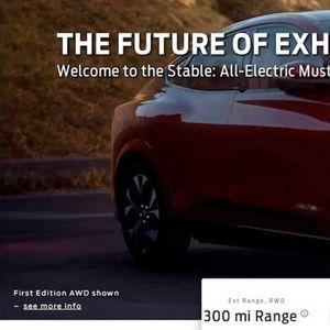 Први слики и информации за електричниот Mustang на два дена пред премиерата / ФОТО