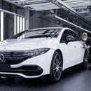Старт на производството на Mercedes EQS / ФОТО