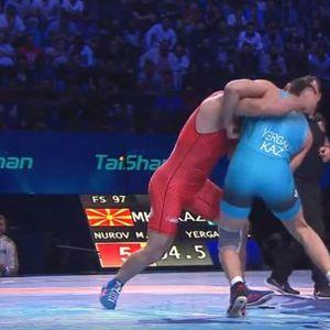 Борбата за олимписка норма и бронзен медал на Нуров