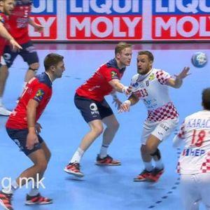 Фотогалерија од епскиот натпревар меѓу Норвешка и Хрватска