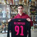 ФОТО: Професионален договор за Алчевски на 17. години