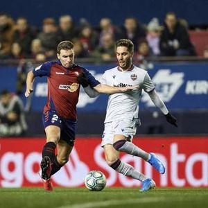 Леванте прими два гола во последните 10 минути и загуби, Барди не настапи поради повреда