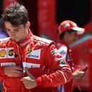 ФОТО: Ферари не може да му го прости на Леклер скокот со падобран