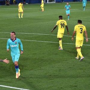 Суарез или Гризман, кој постигна поубав гол против Вилјареал во првото полувреме ?