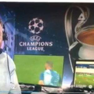 Му се смее цела Словенија, пијан коментираше натпревар од Лигата на шампионите