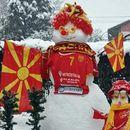 Почнува еуфоријата: Снежна поддршка за ракометарите